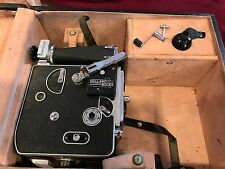Vintage Paillard Bolex Movie Camera H16-F25 in Case