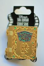 Disney Soda Fountain DSF DSSH Princess and the Frog Story Book Hinged Pin LE 400