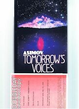 ISAAC ASIMOV ~ TOMORROW'S VOICES ~ REVIEW COPY ~ 1st Ed in DJ ~ EX. COND!