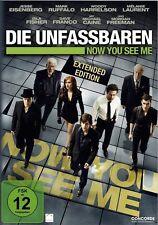 DIE UNFASSBAREN, Now You See Me (Jesse Eisenberg, Morgan Freeman) NEU+OVP