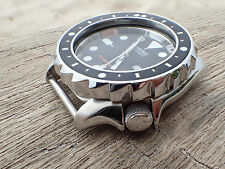 THE.TOWER.SHARK MARK II POLISHED CUSTOM BEZEL F.SEIKO SKX 007-020 CASE DX-12-A