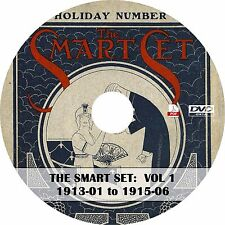 The Smart Set: A Magazine of Cleverness Vol 1 (1913-1915) ~ 30 Issues on DVD