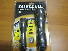 DURACELL Led Flashlight duo-b2, Torcia LED incl. 6 batterie, Top Qualità Nuovo