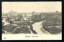 Milano : Panorama - cartolina non viaggiata, circa primi '900