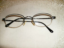 #A BLACK METAL READING GLASSES COMFORT FIT readers NEW 2.00 Deluxe New