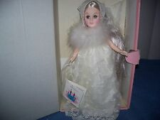 Vintage 1987 Effanbee Storybook Collection Snow Queen Doll # 1152 w/ Box