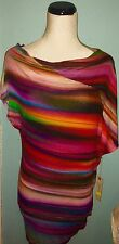 Velvet Graham & Spencer RainBow Drape Top Anthropologie NEW! modcloth Madewell