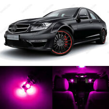 16 x Pink/Purple LED Interior Light Package For 2008 -2013 Mercedes C Class W204