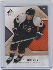 07-08 2007-08 SP GAME USED DANIEL BRIERE GOLD PARALLEL /100 29 FLYERS