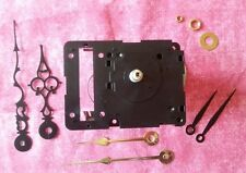 SHORT Shaft, Non-Pendulum Seiko Chiming Quartz Clock Movement Kit w/ Hands (128)
