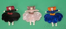 Lea Stein Scarlett O'Hara Ballerina Pin ONE ONLY (Select Your Choice