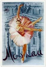Moscow Ballet Ballerina 1959 Russian Soviet Color Nice POSTER         Buy Now!
