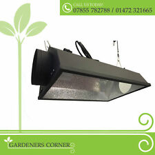 "Hydroponic Air Cooled Reflector 6"" 150mm Lighting Cool Shade Tube Kit Grow Tent"