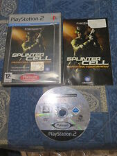 PS2 : TOM CLANCY'S SPLINTER CELL : PANDORA TOMORROW - Completo, ITA !