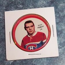 Shirriff  coins hockey 1962-63 # 24 Gilles Tremblay Montreal Canadians Holder