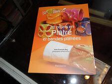 Vingt objets en plâtre et bandes plâtrées - Jean-François Rey