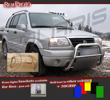 SUZUKI GRAND VITARA 98-05 BULL BAR WITHOUT AXLE BARS +GRATIS! STAINLESS STEEL