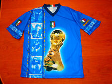 AWESOME ITALIA ITALY SUPPORTER T-SHIRT JERSEY RIO BERLIN WORLD CUP 2006 SOCCER