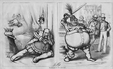 SHAKSPEARE ON THE LATE RIOT FALSTAFF OPERA CROWN IRISH RULE BOSS TWEED BAR ROOM