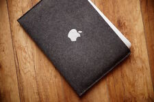 13 - inch MacBook Air felt case - SIMPLE with print Silver Apple