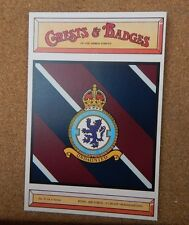 Royal Airforce Group Headquarters Crests & Badges  the Armed services Postcard