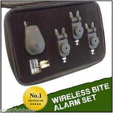 Wireless Bite Alarm Set 3 Alarms + Wireless Receiver
