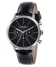 AKRIBOS XXIV Black Men's Watch Item No. AK647SS