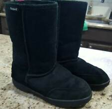 "Bearpaw Womens SIZE 7~Meadow 10"" Black Suede Boots~"