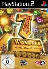 Playstation 2 seven 7 wonders of the ancient world * comme neuf