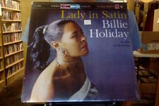 Billie Holiday Lady in Satin LP sealed vinyl RE reissue