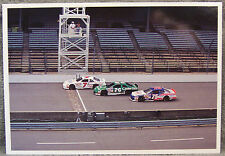 POST CARD ~ BRICKYARD 400 ~ 1993 NASCAR TEST SESSION ~ START-FINISH LINE