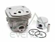 NEW CYLINDER HEAD PISTON KIT FOR HUSQVARNA 357 359 47mm PISTON PIN RINGS CIRCLIP