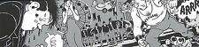 Affiche sérigraphie TARDI Détachables 11b Sans titre Nestor Burma 300ex 16x63