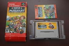 Super Famicom SFC Super Mario Kart boxed Japan SNES game US Seller