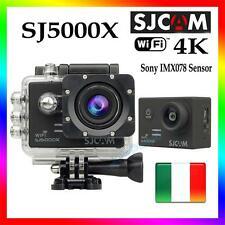 SJ5000X ELITE SJCAM 4K WIFI SPORT CAMERA HD SUBACQUEA 12MP VIDEOCAMERA NERO
