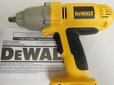 NEW DeWalt 18V volt DW059HB High Torque Impact Wrench (Bare Tool) Hog Ring Anvil