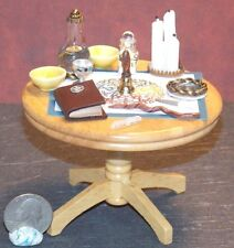 Dollhouse Miniature  Halloween Witch Alter Table 1:12   1 inch scale A   A66