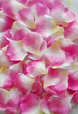 100 Silk Artificial Rose Petal Wedding Party Confetti Flower Table Decoration