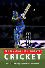 The Cambridge Companion to Cricket,,New Book mon0000028181