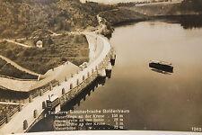 19060 Foto AK Talsperre Goldentraum in Schlesien um 1930 Queis