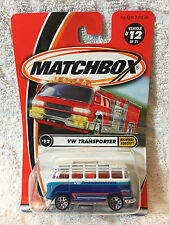 MATCHBOX 2001 #12/75 HIGHWAY HEROES - VW TRANSPORTER - Scale 1:64