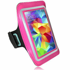 Sports Running Jogging Armband Waterproof Cover for Samsung S3, S4 Hot Pink