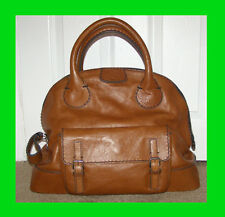 NEW! RARE $1660+ tax Chloe Edith Bowler Large Bag in Muscat Brown GORGEOUS!!!