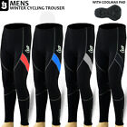 Mens Cycling Winter Trouser Cycle Tights CoolMax Padded Bicycle Legging S,M,L,XL