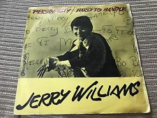 "JERRY WILLIAMS SPANISH 7"" SINGLE SPAIN DISCOPHON 70 - PERSONALITY SWEDISH ROCK"