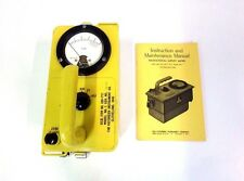 Victoreen CDV-717 No.1 Geiger Counter Radiological Survey Meter w/ Manual