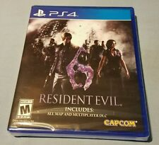 RESIDENT EVIL 6 PS4 US RETAIL GAME SONY YFOLD FACTORY SEALED NEW WITH ALL DLC