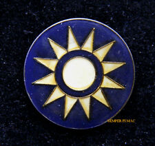 ROC REPUBLIC OF CHINA ROUNDEL Sunburst ROCAF HAT PIN UP FLYING TIGERS WW 2 AVG