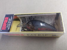 Ireland Made Rapala Wood Fat Rap,FR-5 SG,Gold Dore