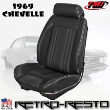 "1969 Chevelle - ""Sport R"" Seat Upholstery [Coupe/Convertible] Full-Set F/R"